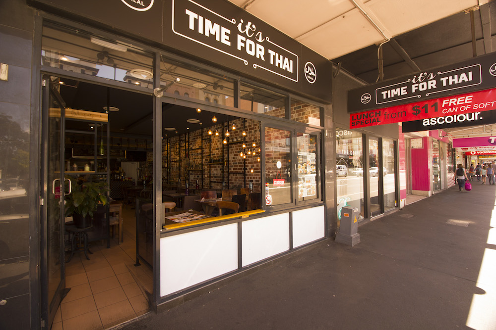 It's Time for Thai Newtown Exterior